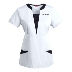 Personalized Embroidered  Women's Scrub Top