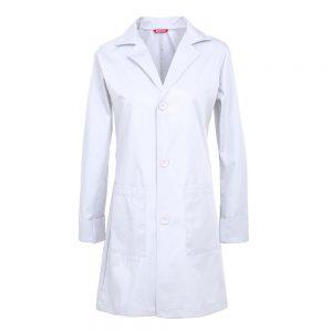 Women's Lab Coat – White