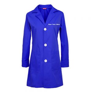 Personalized Embroidered Women's Lab Coat