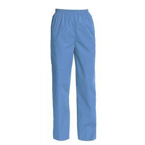 Women's Full Elastic Waist Cargo Scrub Pants
