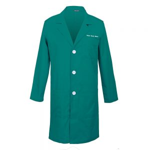 Personalized Embroidered Men's Lab Coat