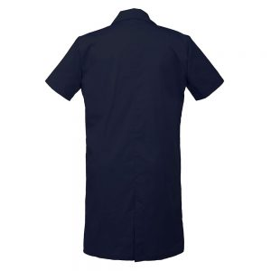 Personalized Embroidered Men's Lab Coat Short Sleeve
