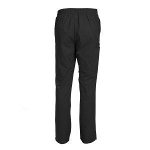 Women's Scrub pants Slim Fit Flare-Leg Elastic Waist Pants