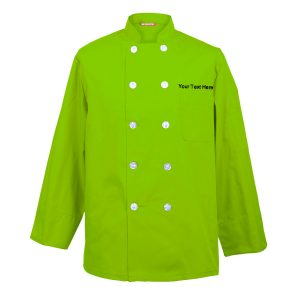 Custom Embroidered Men's Chef Coat Chef Shirt