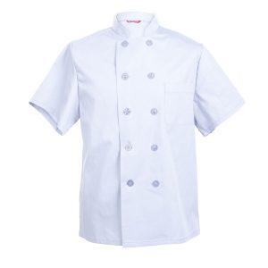 Men's Chef Coat Short Sleeve Chef Shirt
