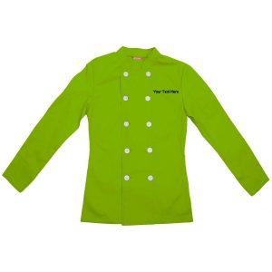 Custom Embroidered Women's Chef Coat Chef Shirt