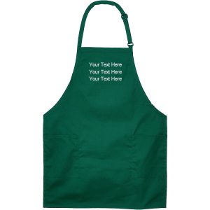 Embroidered Apron with Your Text Name